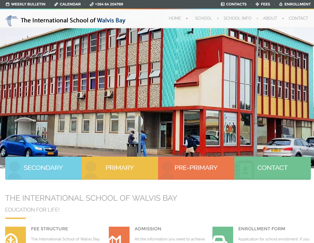 ISWB New WordPress Website